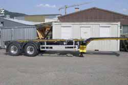 Containerchassis - Haas Transporte AG - Sissach BL